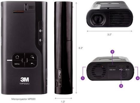 3M™ Miniproyector MP220 - Productividad Móvil : 3M Argentina | Educacion y Tics (1) | Scoop.it