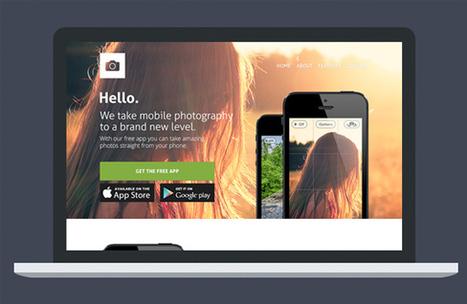 Templates webdesign PSD : nouvelles ressources ... | TUTORIELS | Scoop.it