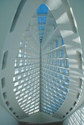 Milwaukee Art Museum, Wisconsin, USA, 1994 — 2001 | José Miguel Hernández Hernández | Architectural Metalwork London | Scoop.it