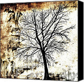 Black White And Sepia Tones Silhouette Tree Painting Painting by Laura  Carter - Black White And Sepia Tones Silhouette Tree Painting Fine Art Prints and Posters for Sale   Alternative photography   Scoop.it