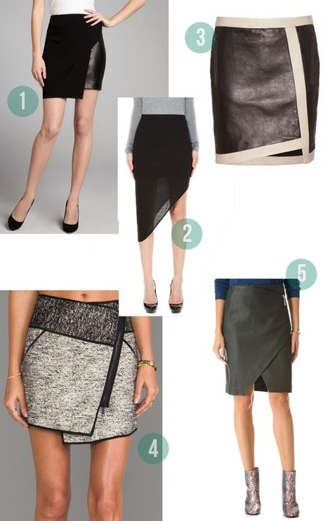 sewing on trend : the asymmetrical pencil skirt - True Bias | Couture, tricot et broderie - idées et envies | Scoop.it