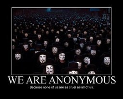 Authority and Power within Anonymous | P2P Foundation | Another World Now! | Scoop.it