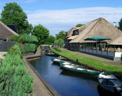 Giethoorn – A Rural Venice in the Netherlands | Strange days indeed... | Scoop.it