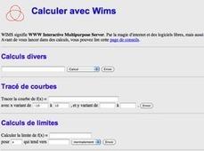 Wims pour tous calculs (ou presque) | Courants technos | Scoop.it