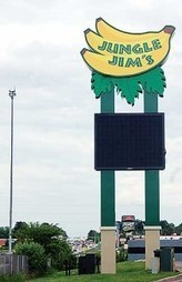Jungle Jim's International Market gets a sign that won't be missed - The Clermont Sun | Wide Format Graphics | Scoop.it
