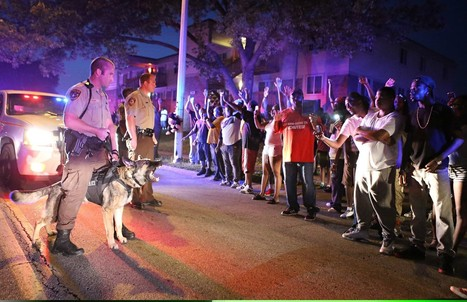 Police shoot 18-year-old in Missouri, spark outrage   Criminal Justice in America   Scoop.it