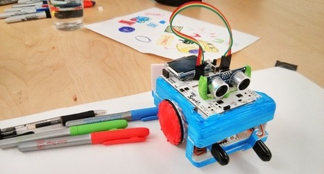 An Arduino-based robot for people who don't know how to build robots | Kids-friendly technologies | Scoop.it