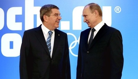 SOTCHI 2014. Comment Poutine se sert des JO pour renforcer sa popularité en Russie   Les évènements sportifs : un levier pour les droits de l'homme   Scoop.it