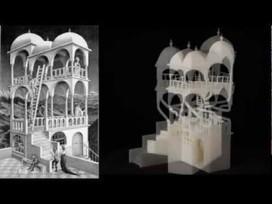 Las construcciones imposibles de Escher llevadas a la realidad por una impresora 3D | Vida digital | Scoop.it