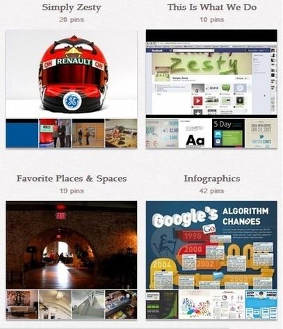 New Pinterest Profiles Go Live | AtDotCom Social media | Scoop.it
