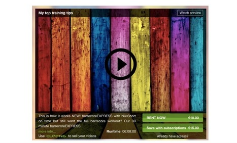 The new Cleeng Play: the most efficient way of to sell Video On-demand | Marketing tips: Live PPV & VOD | Scoop.it