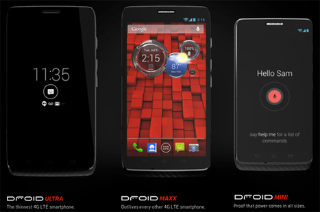 Verizon to unveil next Droid smartphones on October 27   Consumer Priority Service   Tech News   Scoop.it