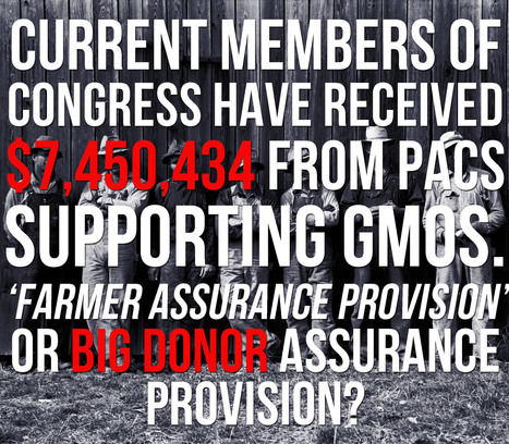 Protecting farmers or campaign coffers? | GMOs & FOOD, WATER & SOIL MATTERS | Scoop.it