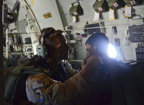 Davis-Monthan crew, burned Chinese sailors flown to Mexico   International Relations   Scoop.it