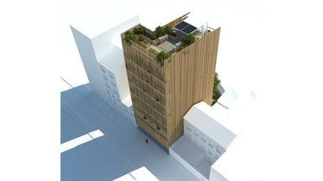 Un immeuble en bois pour un habitat de demain | Habitat groupé participatif | Scoop.it