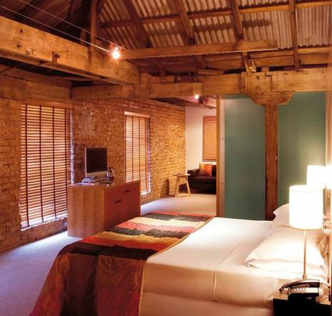 Hotel in derelict dock warehouses | Industrial Furniture | Scoop.it