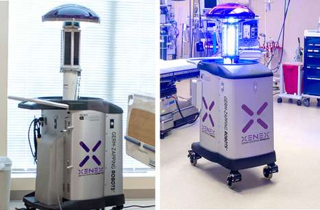 Ebola-Zapping Robots Unleashed in Hospitals | Heron | Scoop.it