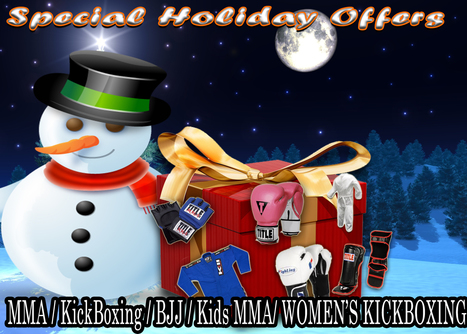 Best Holiday Gift! FULLY Loaded 3 & 6 Month Training Package Holiday Special 410-272-2799 - Top Flight Mixed Martial Arts Academy | MMA | Scoop.it