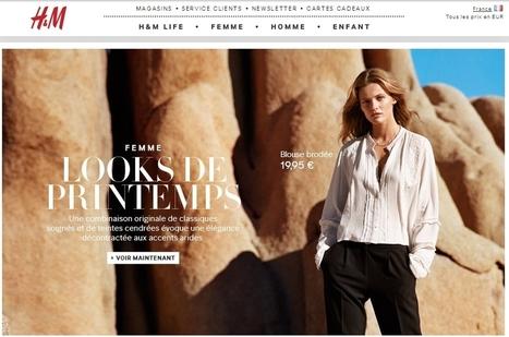 H&M : la vente sur Internet programmée pour l'été 2014   web marketing   Scoop.it