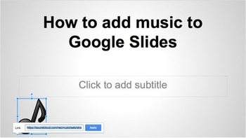 How to add music to your Google Slides presentation | Educatief Internet - Gespot op 't Web | Scoop.it