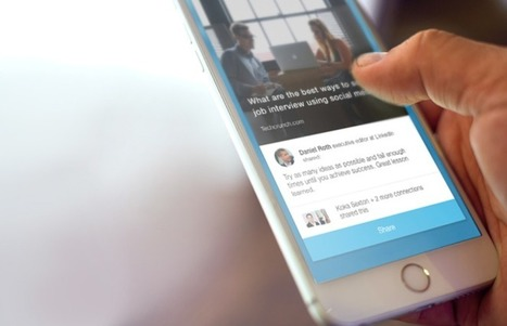 LinkedIn announces Elevate app to help employees share company content | VentureBeat | Social | by Jordan Novet | CRM Systems | Scoop.it