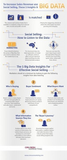 To Increase Sales Revenue, Use Big Data, Social Selling and These 5 Insights - Tech Cocktail | Social selling | Scoop.it
