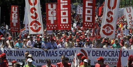 Manifestations dans 28 villes espagnoles contre les mesures d'austérité | Union Européenne, une construction dans la tourmente | Scoop.it