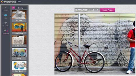 Transformez vos photos en ligne avec PhotoMania | Retouches et effets photos en ligne | Scoop.it