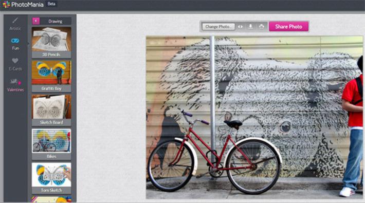 Transformez vos photos en ligne avec PhotoMania | TIC et TICE mais... en français | Scoop.it