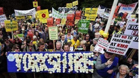 Fracking decision in North Yorkshire reignites intense debate - BBC News | Macroeconomics: UK economy Pre-U Economics | Scoop.it