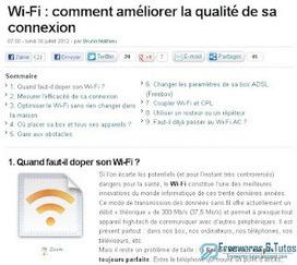 Le site du jour : comment améliorer la qualité de sa connexion Wi-Fi ? | Les outils d'HG Sempai | Scoop.it