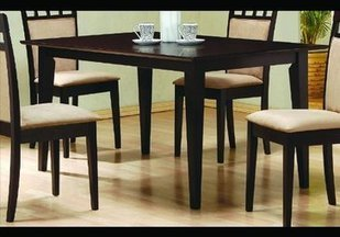 Coaster Cappuccino Rectangular Dining Table | Home Office Furniture | Scoop.it