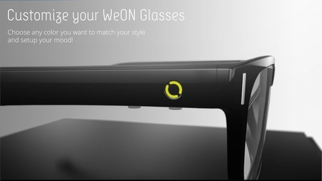 WeON Glasses :: Really Fashion Weareable Device | Heron | Scoop.it