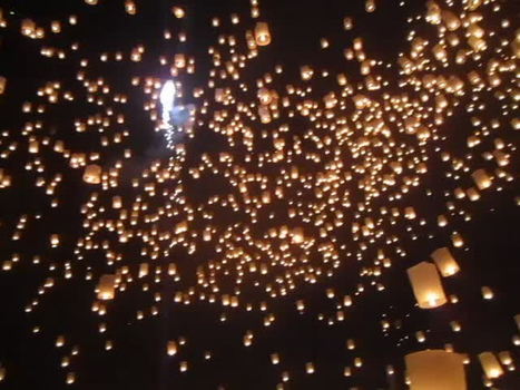 Thailand Lantern Festival | Year 3 History: National Days and Celebrations - Thailand | Scoop.it