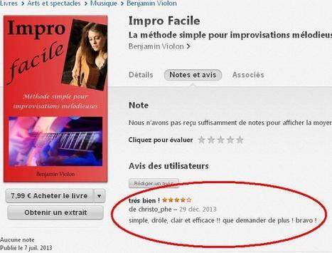 Avis sur Impro Facile   Impro Facile   Scoop.it