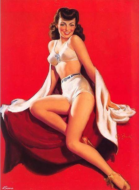 Al Buell – Vintage Pin Up Girls Gallery 3 | Rockabilly | Scoop.it