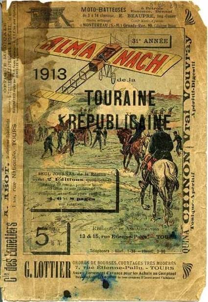 Il y a 100 ans paraissait l'almanach 1913 de la Touraine Républicaine | Rhit Genealogie | Scoop.it