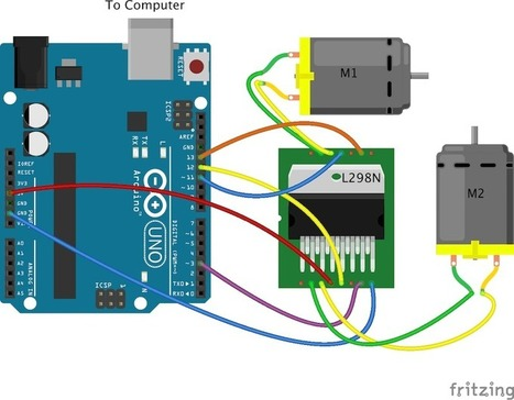 Controlling a Motorbot Using Arduino and Node.js | Raspberry Pi | Scoop.it