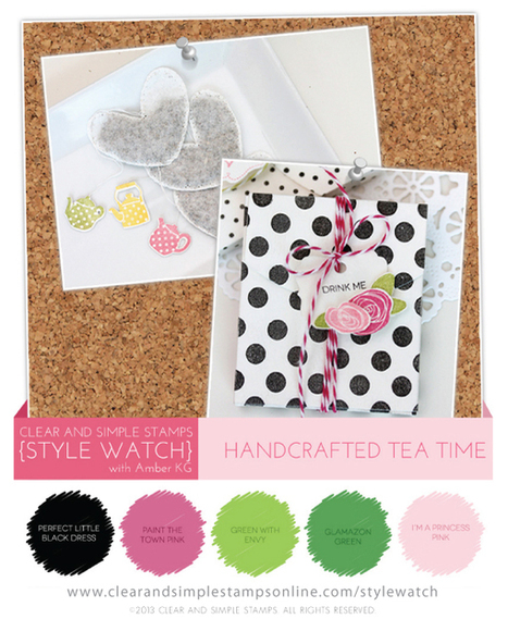 SW | Handcrafted Tea Time - Clear and Simple Stamps | Handmade Items | Scoop.it