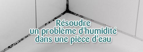 Résoudre un problème d'humidité dans une pièce d'eau | ORPI 101 Jaurès Brest | Scoop.it
