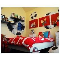 Trendy Boy Sports Themed Bedroom Ideas | Bedroom Decorating Ideas and Bedding Ideas | Scoop.it