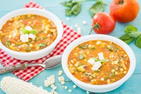Summer Vegetable Soup - Plant-Based Vegan Recipe | Vegan Food | Scoop.it