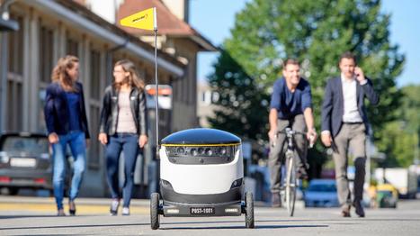 El servicio de Correos de Suiza empieza a usar robotspara entregarenvíos | TECNOLOGÍA_aal66 | Scoop.it