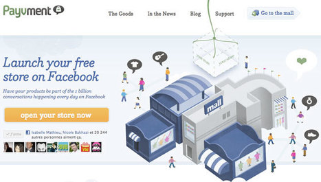 "5 Applications Facebook E-commerce Pour Créer Une E-boutique Pour Votre Page - Isabelle Mathieu (Emarketinglicious) | Facebook for ""Pro"" 