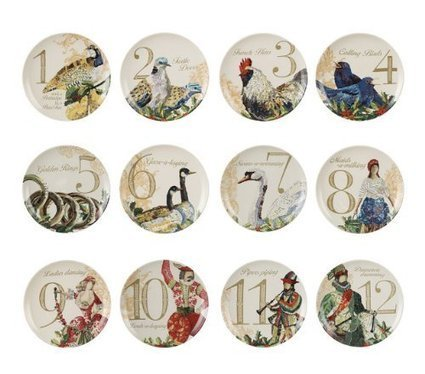 12 Days of Christmas Plates   Ideas for Christmas Gifts and Decorating   Scoop.it