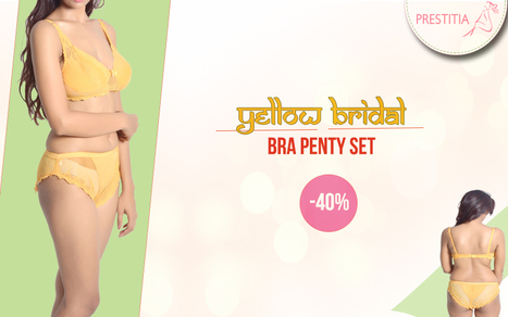 Bridal Bra Panty Set | Shopping Online in india padded Bra and panty | Scoop.it