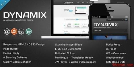DynamiX v3.1.1 Premium Wordpress Theme | Download Free Full Scripts | pasion juvenil | Scoop.it