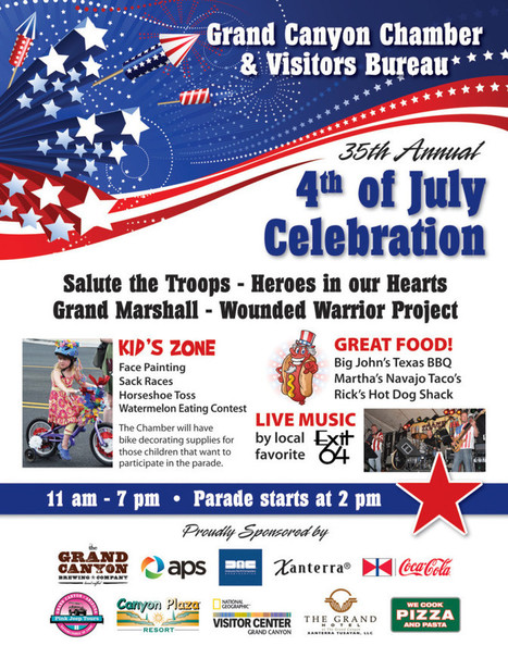 Grand Canyon July 4th Celebrations | Grand Canyon Vacation | Scoop.it