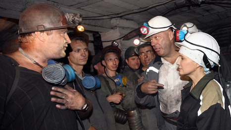 Ukraine coal miners on strike, refuse to pay Kiev coup damages bill | Global politics | Scoop.it