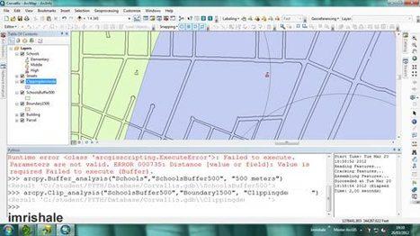 Aplicando Python a ArcGIS | Cuaderno de Bitácora | ArcGIS-Brasil | Scoop.it